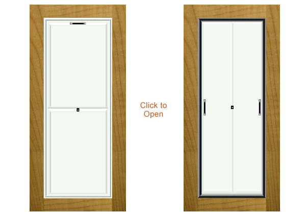 Combo Doors - Door with added Security